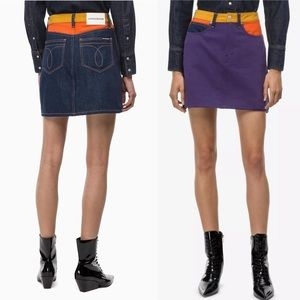 Calvin Klein Jeans High Rise Mini Skirt Size 31